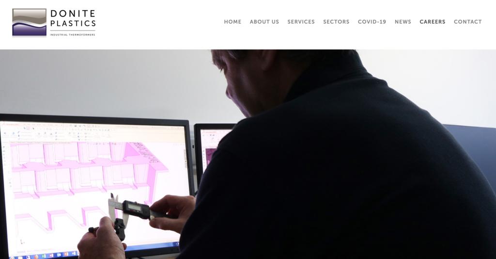Donite Plastics website